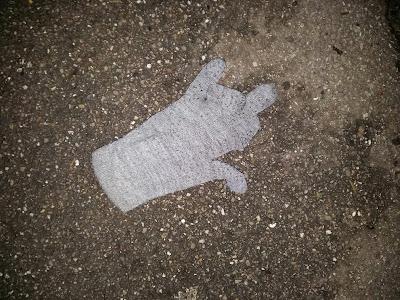 Verloren handschoen