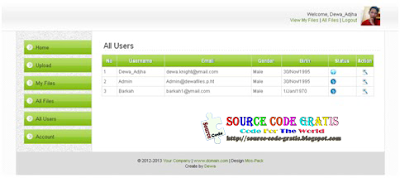 Download Gratis Source Code PHP Web File Uploader