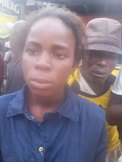 Photos: Secondary school student nabbed in Delta State after stealing N70K from bank customer