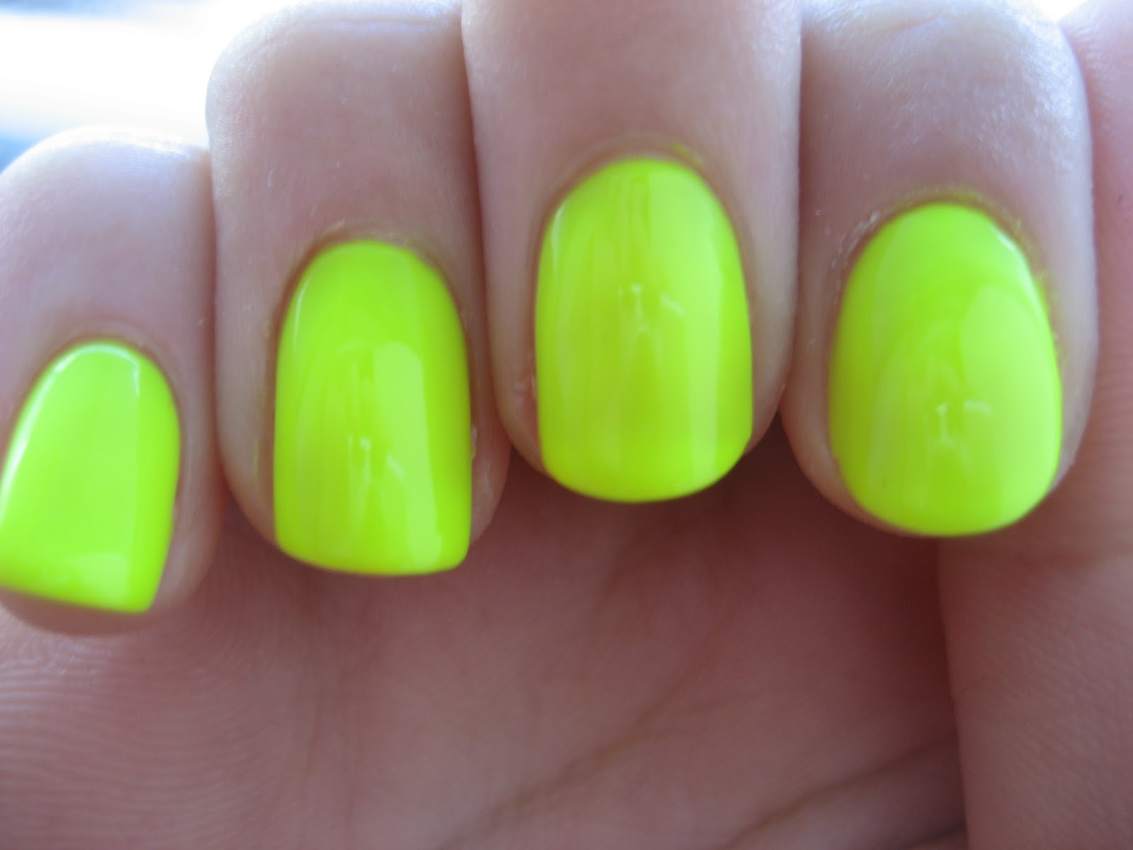 Nail Amp Polish Orly Glow Stick Neon Collection 2012