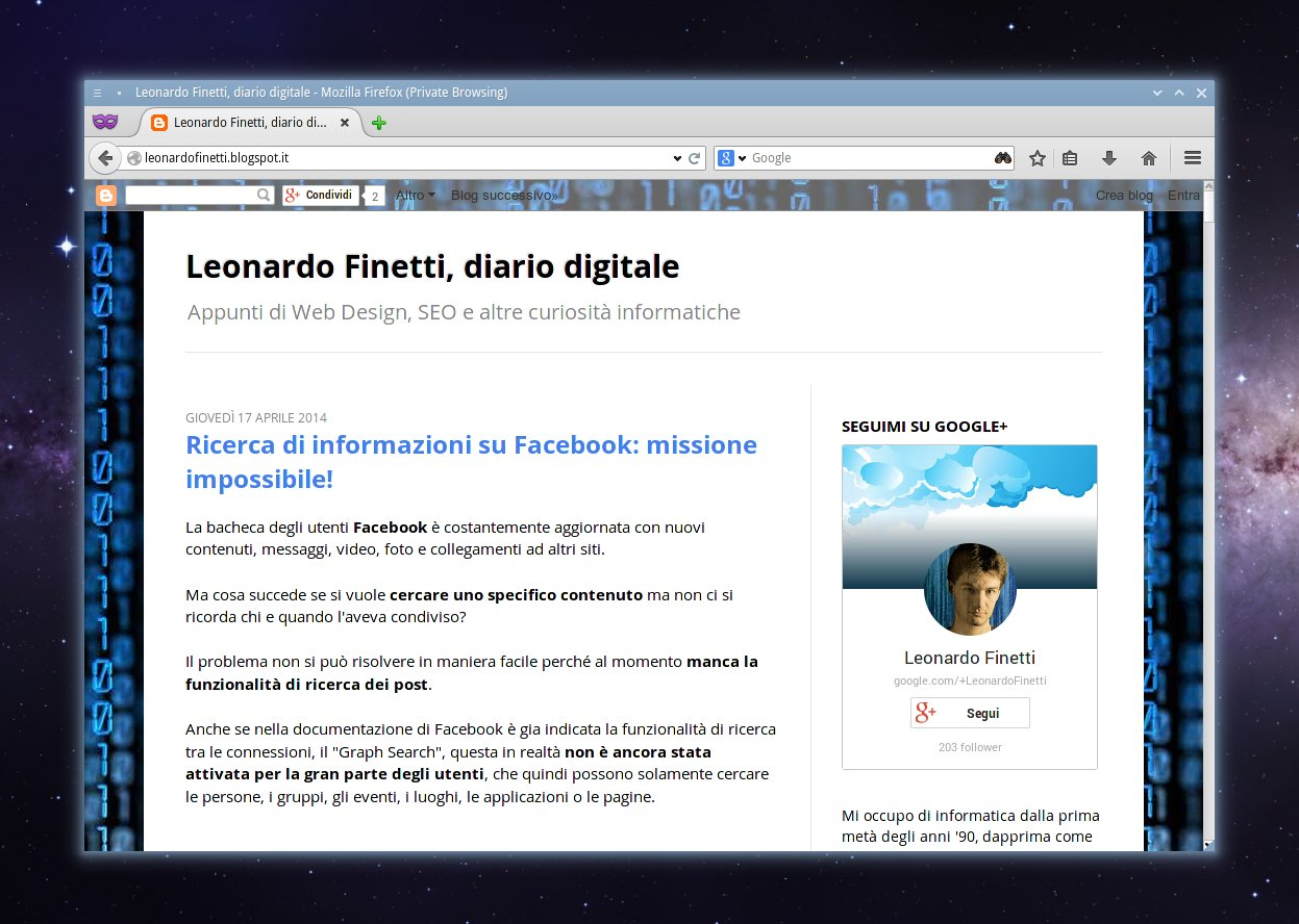 Interfaccia grafica Australis Mozilla Firefox 29