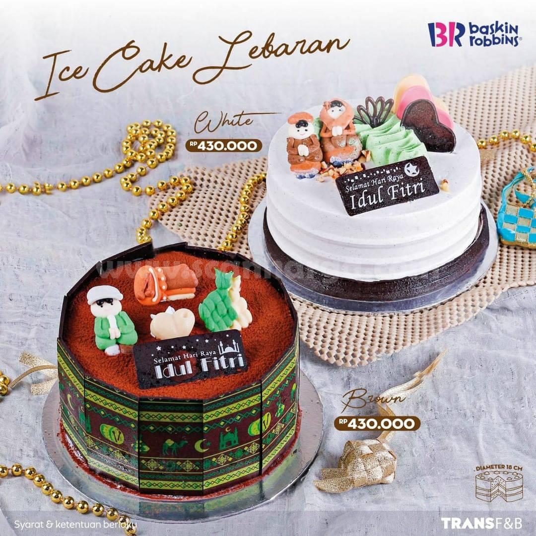Promo BASKIN ROBBINS Diskon 35% untuk Ice Cake Lebaran Dengan Kartu Kredit Bank Mega