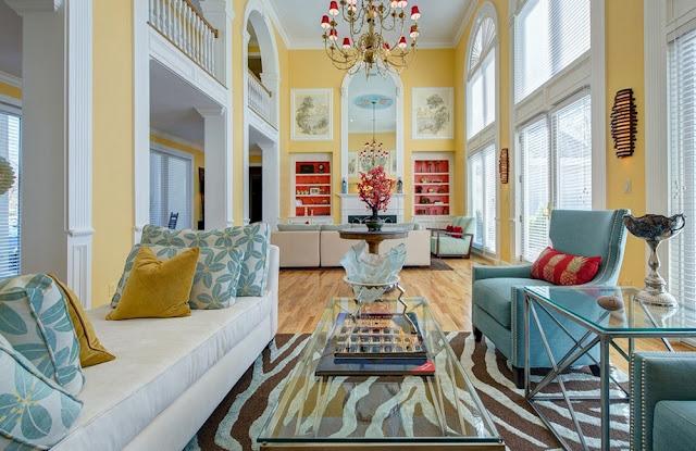 Trang trí nhà cửa theo tỷ lệ vàng