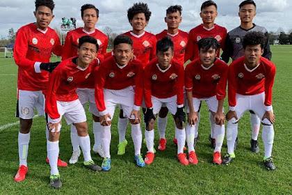 Review Pertandingan Garuda Select vs Reading U-18