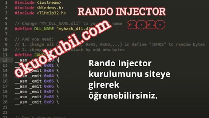 Rando Injector Nasıl Kurulur- Injectorler Nasıl Kullanılır Ekim 2020