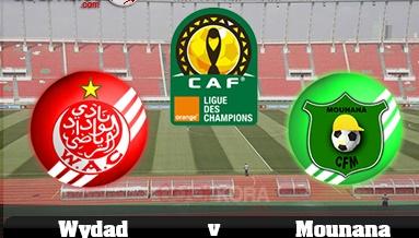 مشاهدة مباراة الوداد المغربي ومونانا الجابوني Wydad vs Mounana بث مباشر اون لاين يوتيوب اليوم 11-3-2017 دوري أبطال أفريقيا