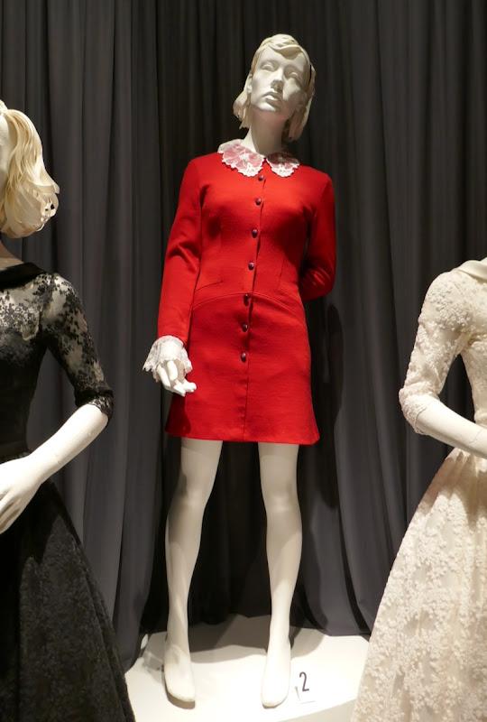 Kiernan Shipka Chilling Adventures of Sabrina red dress