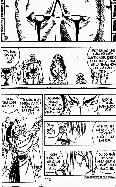 Shaman King [Vua pháp thuật] chap 140 trang 17