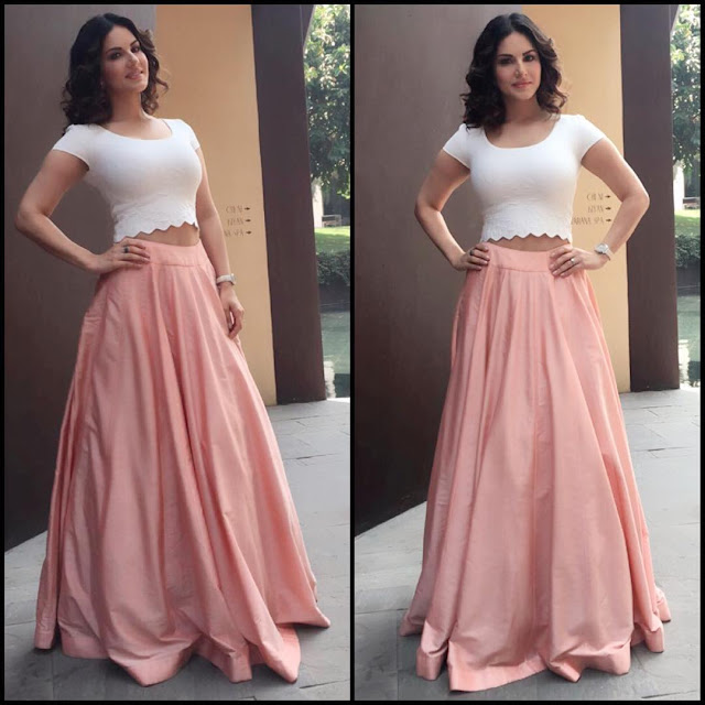 sunny-leone-in-sexy-dress