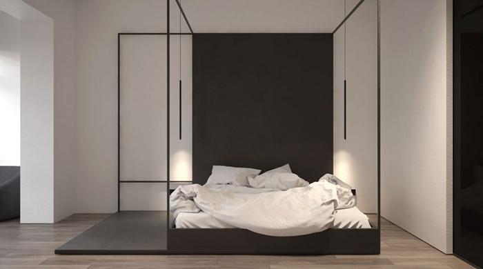 Thiết kế nội thất chung cư 60m2 cho vợ chồng trẻ- 6