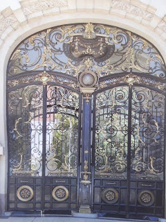 Pintu Klasik, Pintu  Head Besi Tempa, Pintu Antik, Pintu Rumah Besi
