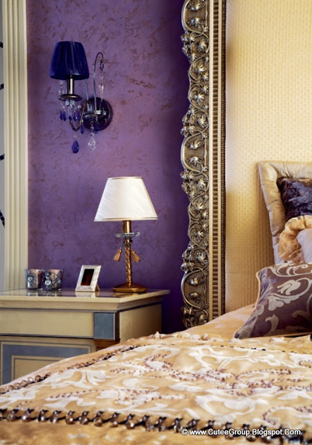 Cool Living: Apartment With Lilac And Plum Violet Interior