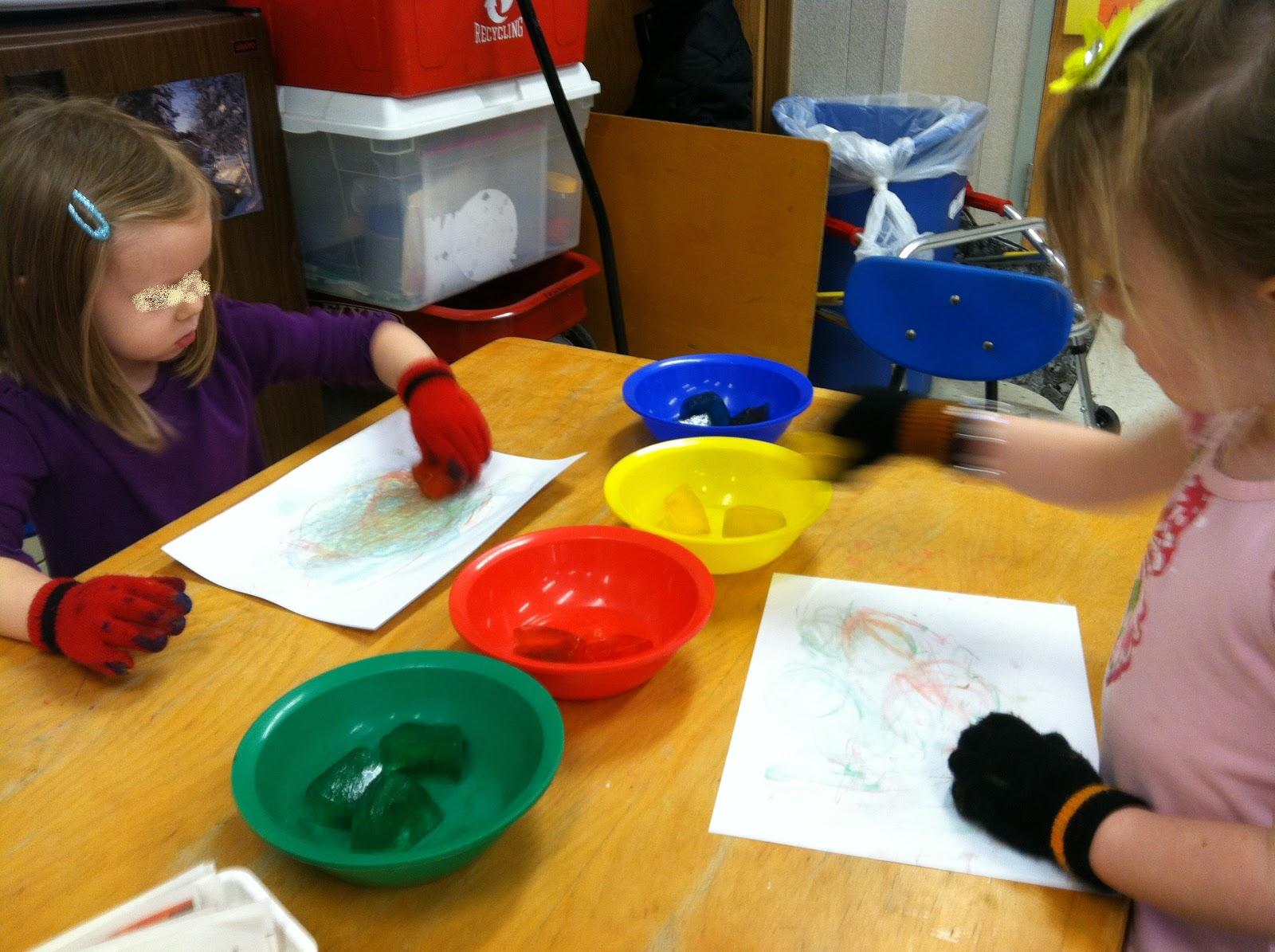 Jen S Ot For Kids Ice Cube Painting
