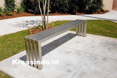 Harga Kursi Taman Stainless Model Terbaru