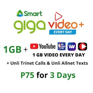 giga video+ 75