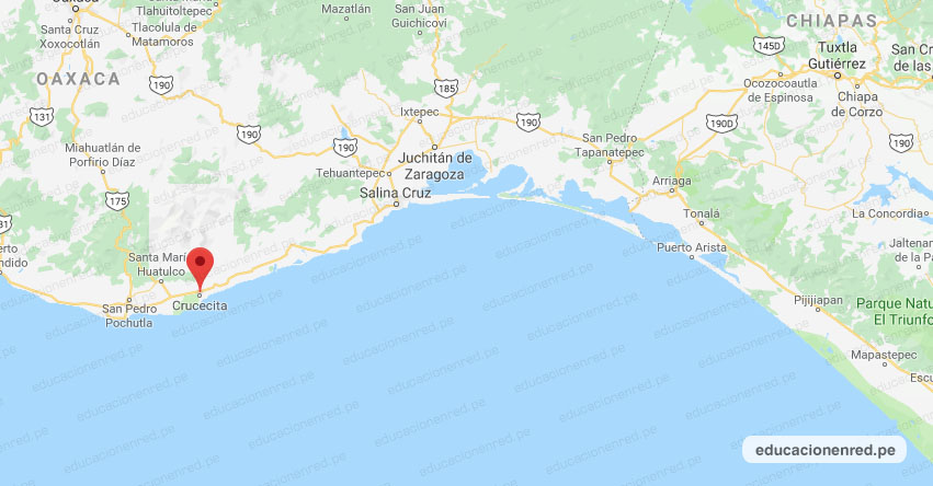 Temblor en México de Magnitud 4.1 (Hoy Lunes 08 Febrero 2021) Sismo - Epicentro - Crucecita - Oaxaca - OAX. - SSN - www.ssn.unam.mx