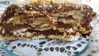 bolo torta palha italiana