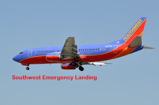 Emergency landing was made by southwest for engine failure