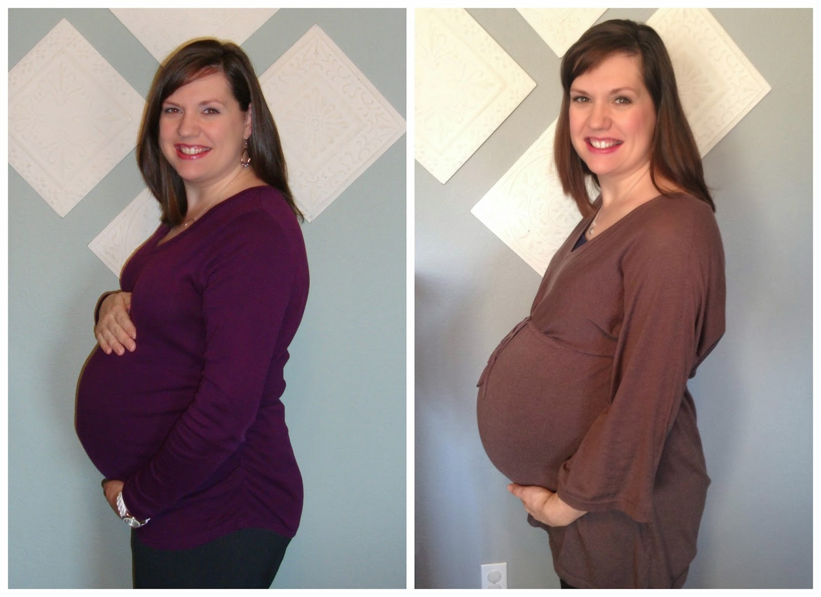 Anything But Grey: Twin Pregnancy: 34 Weeks!