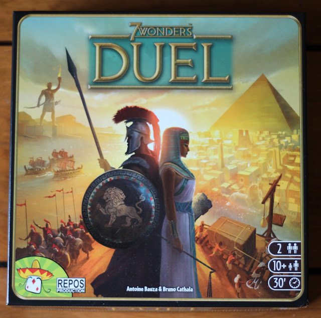 7 Wonders: Duel box art