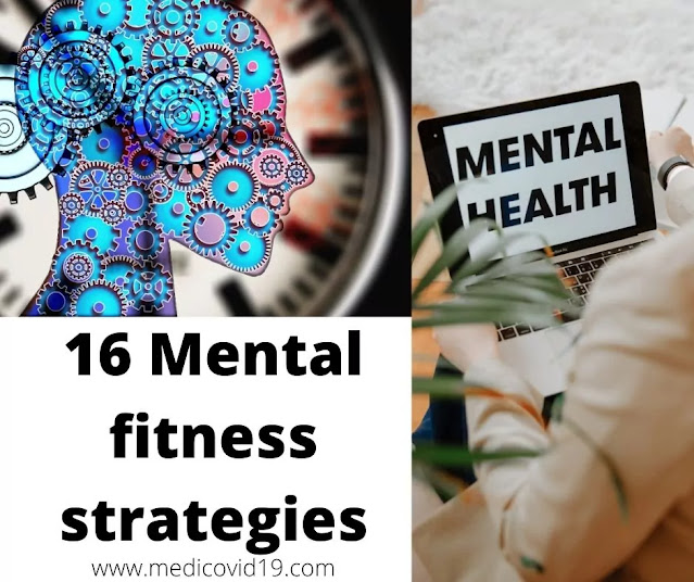 How can a person be mentally fit?