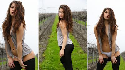 Ally Milano derrochando belleza en 8 Impactantes Fotografías