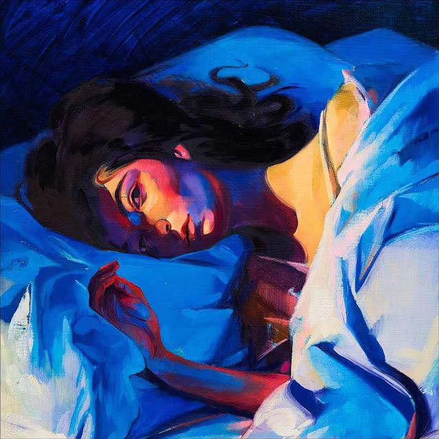 Lorde - Melodrama - portada del disco obra del pintor Sam McKinniss