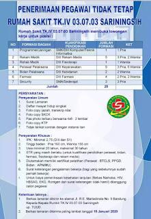 Karir Lowongan Kerja RS Sariningsih Bandung Terbaru 2020