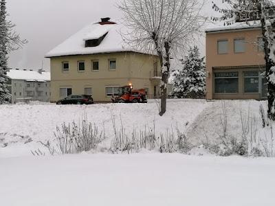 الثلج في النمسا,