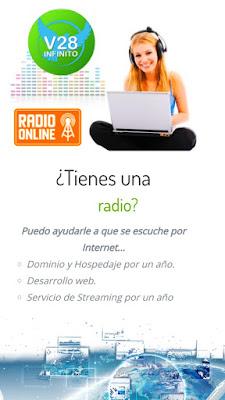 Imagen te hacemos tu página de radio Online