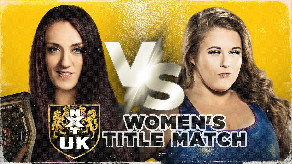 Grande combate por título é anunciado para o próximo NXT UK