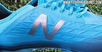 54f4b9107 New Boots For Liverpool s Mané - Teal New Balance Furon 5.0 Boots Leaked