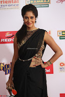 Sindhu looks fabulous in Black Saree designer choli at Mirchi Music Awards South 2017 ~  Exclusive Celebrities Galleries 019.JPG