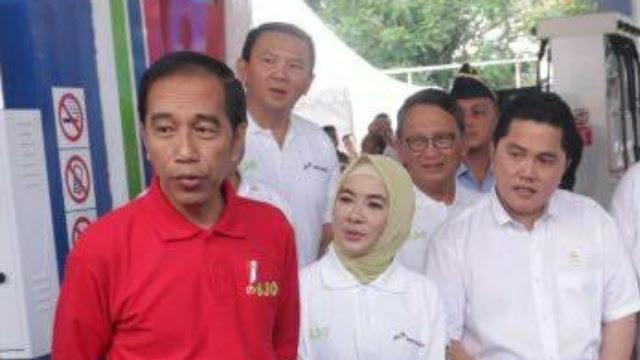Ahok Menguji Kedekatan Erick Thohir dengan Jokowi