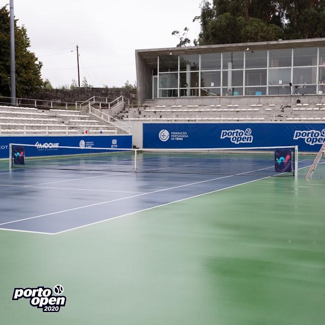ITF W15 Porto chuva interrompe dupla