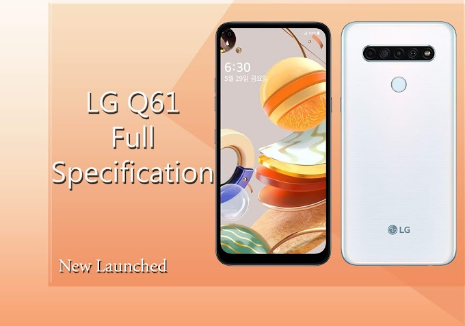 LG Q61 smartphone launched with four rear cameras.