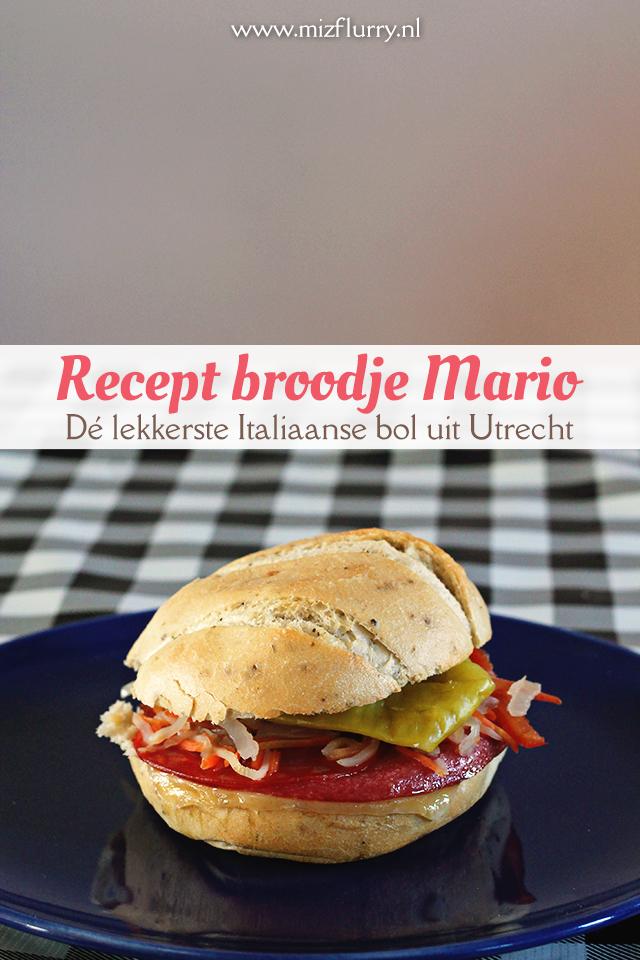 recept broodje Mario