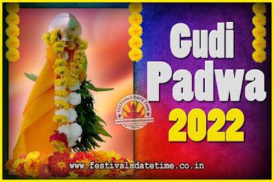 2022 Gudi Padwa Pooja Date & Time, 2022 Gudi Padwa Calendar