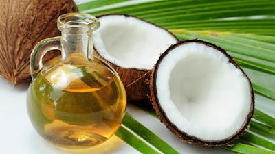 oleo de coco vegetal cabelo