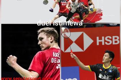 Jadwal pertandingan Indonesia Masters 2020, Vito bertemu Viktor Axelsen