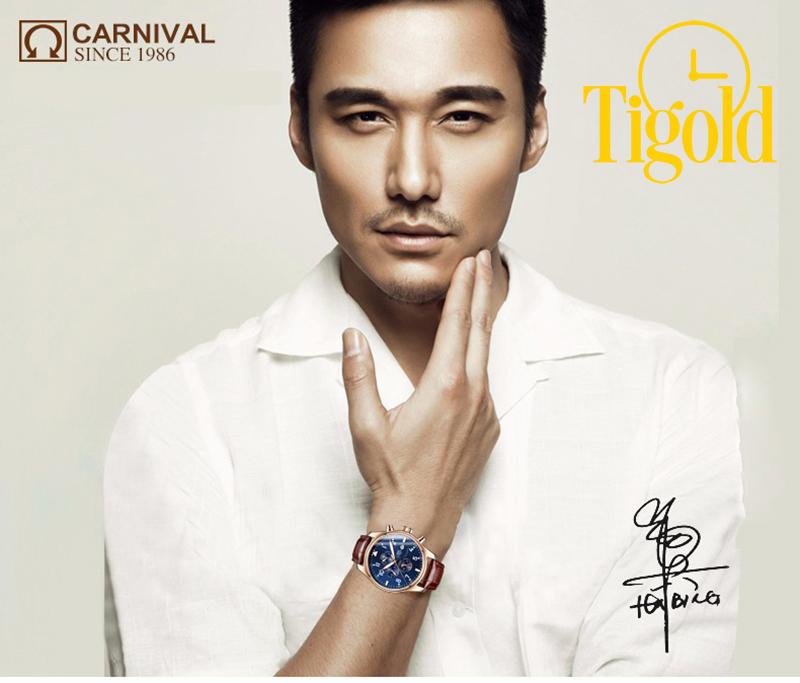 cách nhận biết đồng hồ Carnival chính hãng thật và giả