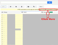 how to delete all emails from gmail