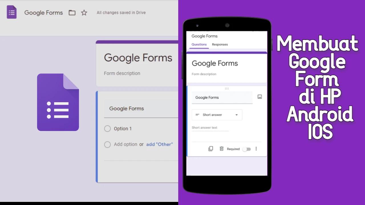 14+ Cara Membuat Google Form Di Iphone mudah