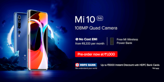 EvokeYourImagination - Mi 10 Launched in India!