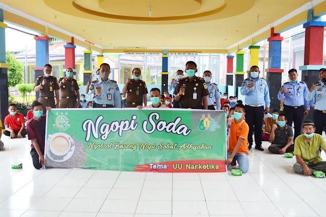 "Lapas Sarolangun Jadi Tuan Rumah acara ""Ngopi Soda"" Adhyaksa"