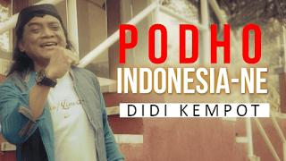 Lirik Lagu Podho Indonesia Ne - Didi Kempot