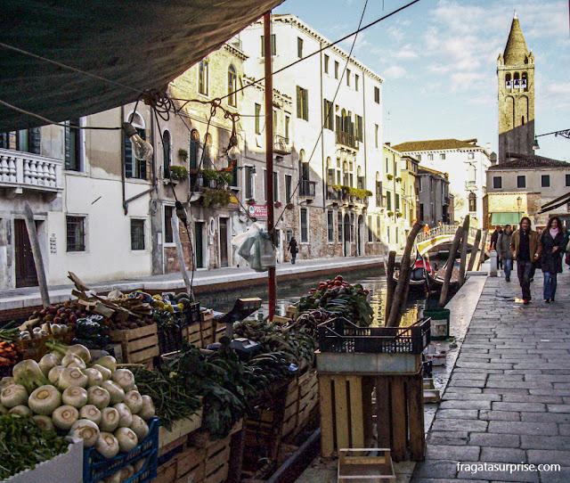 Barraca de hortaliças no Dorsoduro, Veneza