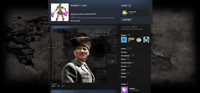 Steam-Profil