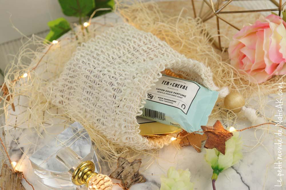 sac à mini savon parfumés Fer à CHeval