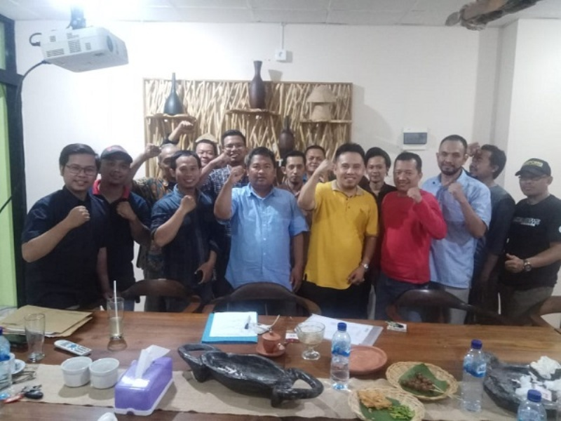 Pembentukan Organisasi JMSI Banten Setelah Rapat Perdana yang Dihadiri Oleh Belasan Pimpinan Media Siber